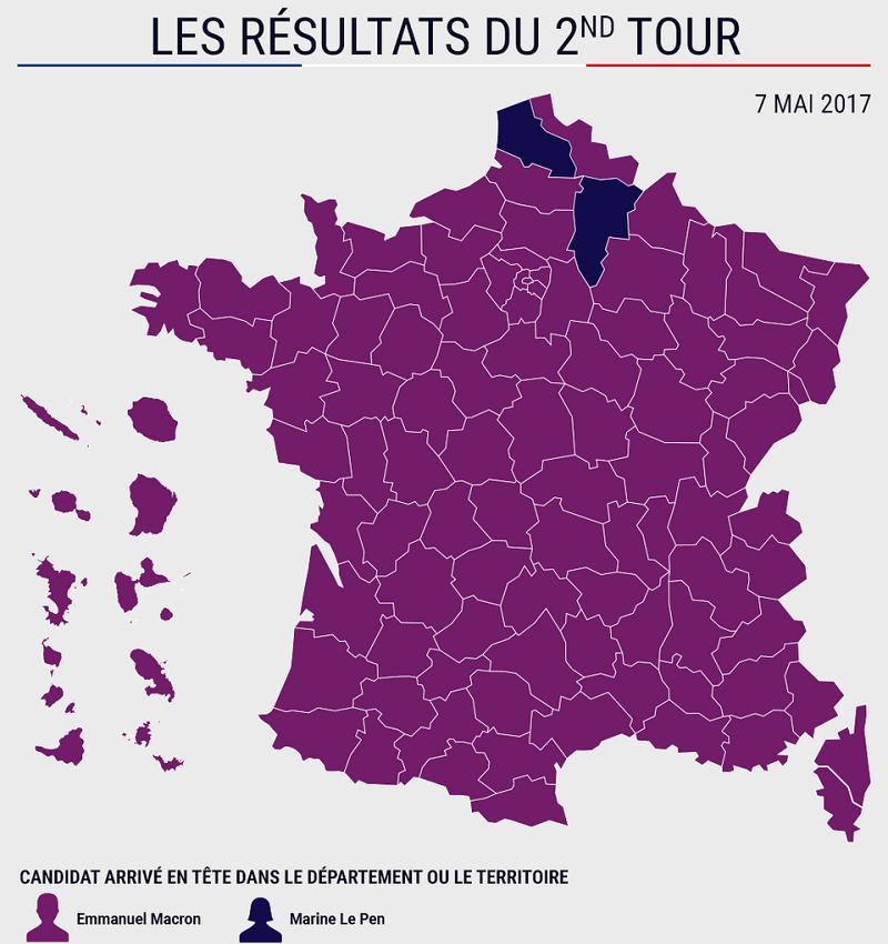Qu expresa que un tercio de los franceses no hayan votado ni a macron ni a le pen - Mas de l amarine ...