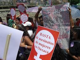 #NiUnaMenos: Se movilizan por Marjorie los maestros en Oaxaca