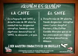 Los charros del SNTE y la lucha contra la reforma educativa