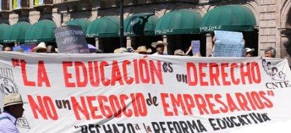La batalla por la educación