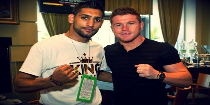 Canelo vs Khan: boxeo de sábado por la noche