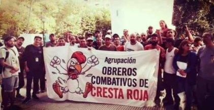 Cresta Roja: Los trabajadores llaman a apoyar la lucha que vienen dando hace mas de tres años.