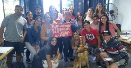 La Facultad de Trabajo Social de La Plata no respeta la ley de identidad de género