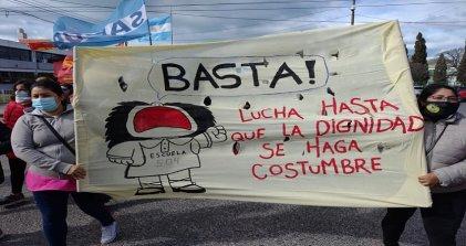 """Soledad Domínguez: """"Exigimos el desprocesamiento de todos los luchadores en Chubut y el país"""""""