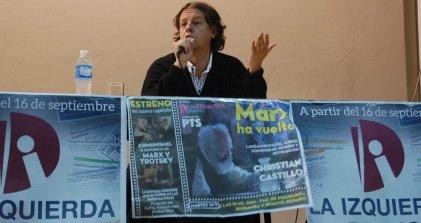 """Christian Castillo recorre el país presentando """"Marx ha vuelto"""""""