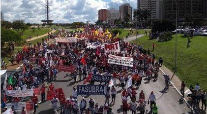 Hay fuerza para una huelga general hasta derrumbar a Temer y sus reformas