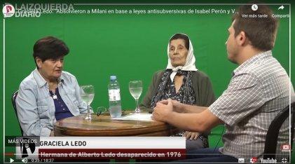 """Marcela y Graciela Ledo: """"Los genocidas hoy pueden usar la absolución de Milani para buscar impunidad"""""""