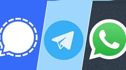 Tras los cambios en políticas de WhatsApp, millones descargaron Telegram y Signal
