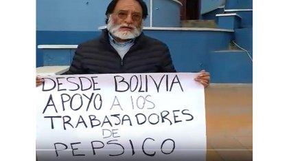 Ex dirigente minero y ex preso político se solidariza con los trabajadores de PepSico