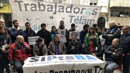 #JusticiaParaTélam: nueva jornada de protesta contra los despidos y la persecución del Gobierno