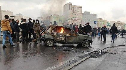 Protestas en Irán contra el Gobierno por el aumento de los combustibles