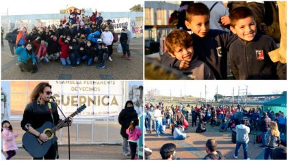 Guernica: un domingo solidario a un año de la toma