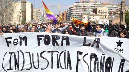 Concentraciones en rechazo a la visita del Rey y el juez Llarena en Barcelona
