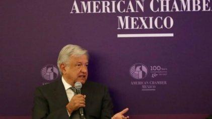 """López Obrador tranquiliza a los empresarios: """"buscamos la reconciliación de todas las clases"""""""