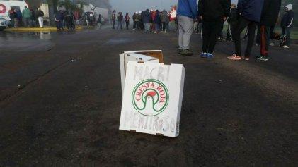 Cresta Roja: trabajadores se manifiestan en Ruta 205