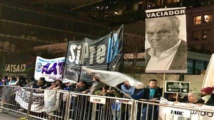 [Video] Trabajadores de medios públicos hicieron oír su voz en los Martín Fierro
