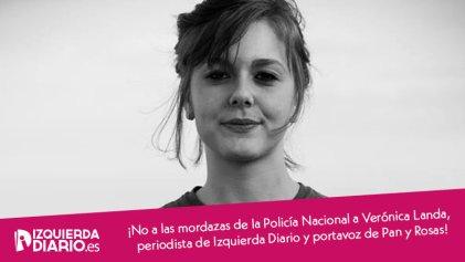 Crece la solidaridad con Verónica Landa e Izquierda Diario