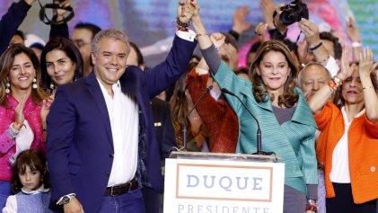 El derechista Iván Duque gana la presidencia de Colombia