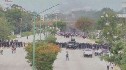 Gobierno de Chiapas rompe diálogo y reprime a maestros del Nivel de Educación Indígena