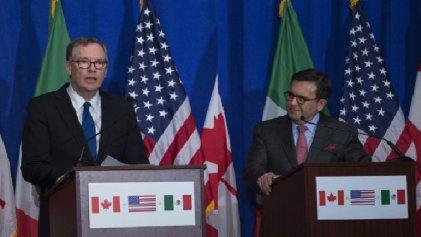 Estados Unidos hace a un lado a Canadá buscando negociar con México el cierre del TLCAN