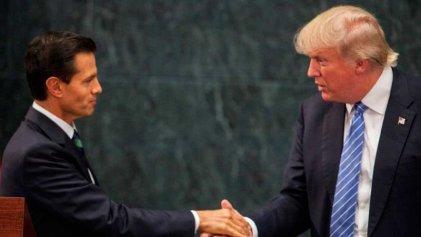 Trump festeja acuerdo preliminar con México en TLCAN y Canadá continúa sin reintegrarse