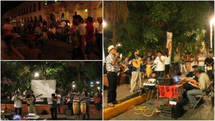 Yucatán: actividades por Ayotzinapa y a 50 años del 68'