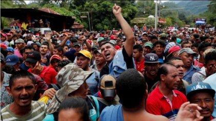 Servilismo a Trump: Gobierno mexicano quiere frenar la Caravana Migrante