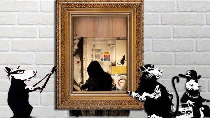 De vándalo a celebrity: ¿comprando a Banksy?