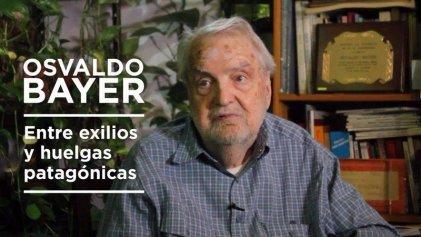[Video] Osvaldo Bayer a dos años de su muerte: la entrevista que le hizo La Izquierda Diario