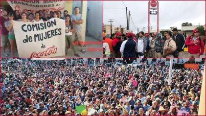 """Trabajadores de Coca-Cola en Argentina: """"¡viva la lucha obrera en México!"""""""
