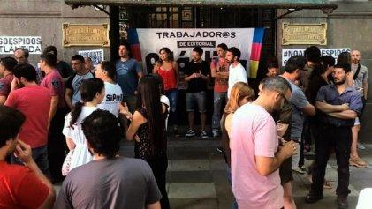Los trabajadores de Editorial Atlántida marcharán el martes contra los despidos