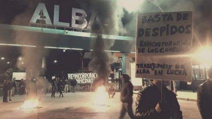 Trabajadores despedidos de Alba anunciaron nuevas medidas de lucha