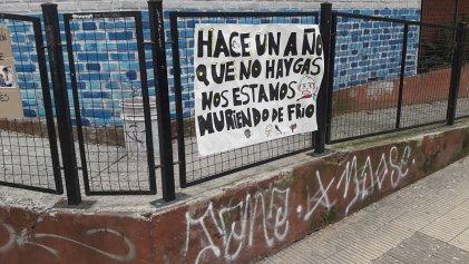 Secundaria de Vicente López hace un año está sin gas