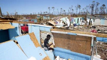 Catástrofe humanitaria en Bahamas por devastación de Dorian