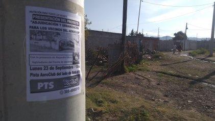 Barrio Aeroclub: la Izquierda propone urbanización y adjudicación de terrenos