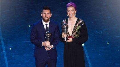 Megan Rapinoe: la mejor futbolista del año dedicó premio a la lucha contra el racismo y a las mujeres iraníes
