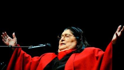 Una década sin Mercedes Sosa, la voz de América Latina
