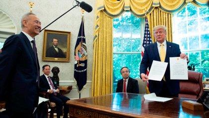 Tregua: Estados Unidos y China alcanzan un acuerdo parcial