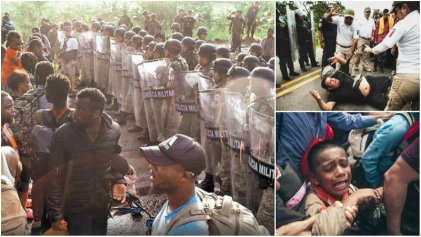 Guardia Nacional y Fuerzas Armadas reprimen y desmantelan caravana migrante en Chiapas