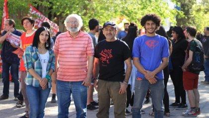 El Frente de Izquierda Unidad cerró la campaña con la juventud en la Universidad del Comahue