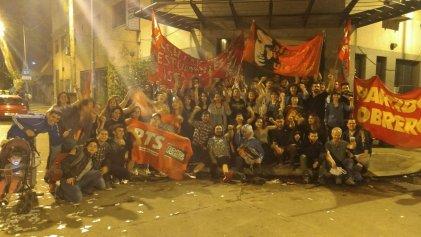 San Martín: La izquierda recuperó el Centro de Estudiantes del ISFD Nº 113