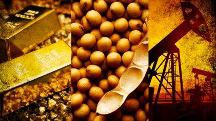 Soja, oro y petróleo caen por incertidumbre de las negociaciones China - EE. UU.