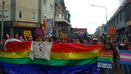 Ushuaia: una gran Marcha del Orgullo exigió por el cupo laboral trans