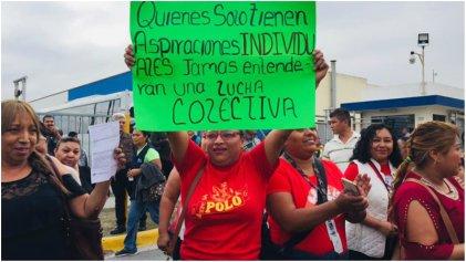 Se reaniman las luchas obreras en la frontera de México con Estados Unidos