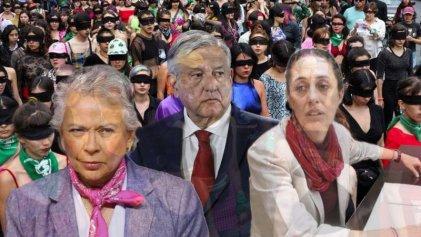 La transformación no llega para las mujeres en el primer año de gobierno de AMLO