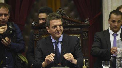 Un panqueque al poder: Massa asumió la presidencia de Diputados reivindicando a Emilio Monzó