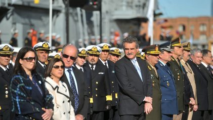 Agustín Rossi, el ministro que critica a Bullrich pero banca a muerte a las Fuerzas Armadas