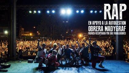 """[VIDEO] Reviví el festival """"Fábrica de Rimas"""" en la gráfica sin patrones"""