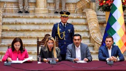 Crisis diplomática del Gobierno golpista de Bolivia con México y el Estado español