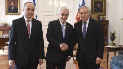Inaudito: Secretario general de la OEA alaba actuar de Piñera durante estallido social